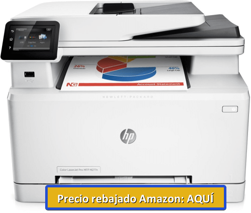 impresora multifuncion laser color hp