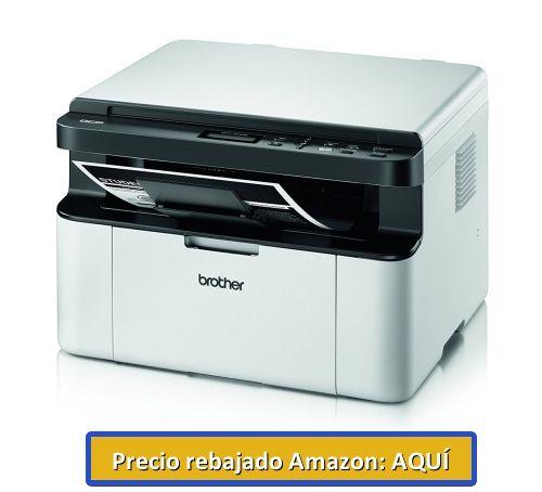 impresora barata blanco y negro