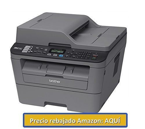 impresora en blanco y negro Brother MFC-L2700DW