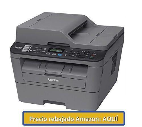 impresora en blanco y negro Brother MFC-L2700DW