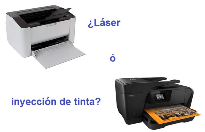 impresoras laser o de tinta