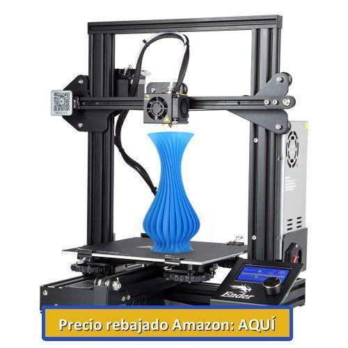 impresora 3d mas vendia cromgrow creality