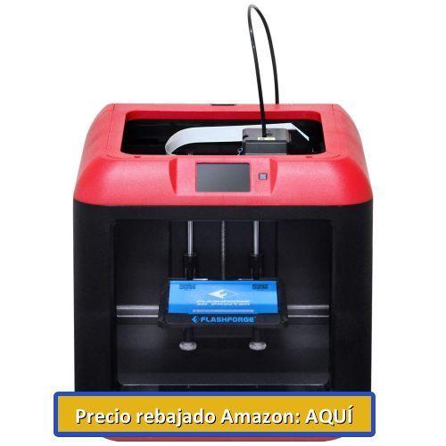 impresora 3 dimensiones barata flashforge finder